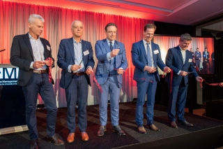 Push To Talk organiseert opening De Boogkeers voor Antwerp Management School
