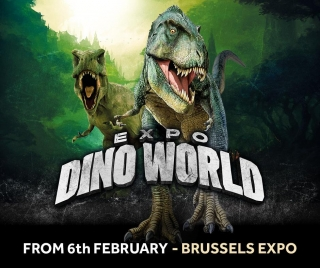 Expo Dino World komt naar Brussels Expo!