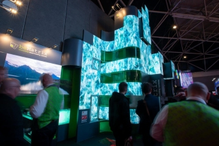 beMatrix prône le « Freedom of form » au salon ISE 2019
