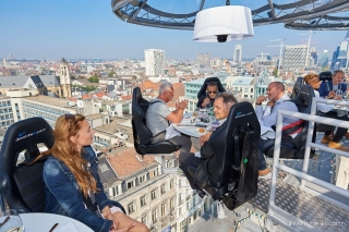 Dinner in the Sky op roadshow door 3 Belgische provincies in 2021