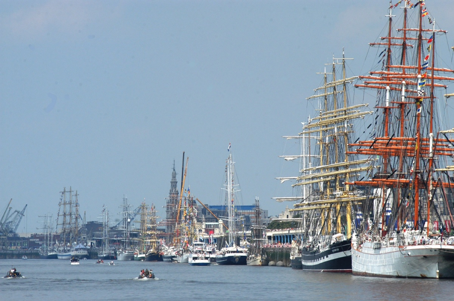 Alle hens aan dek voor The Tall Ships Races