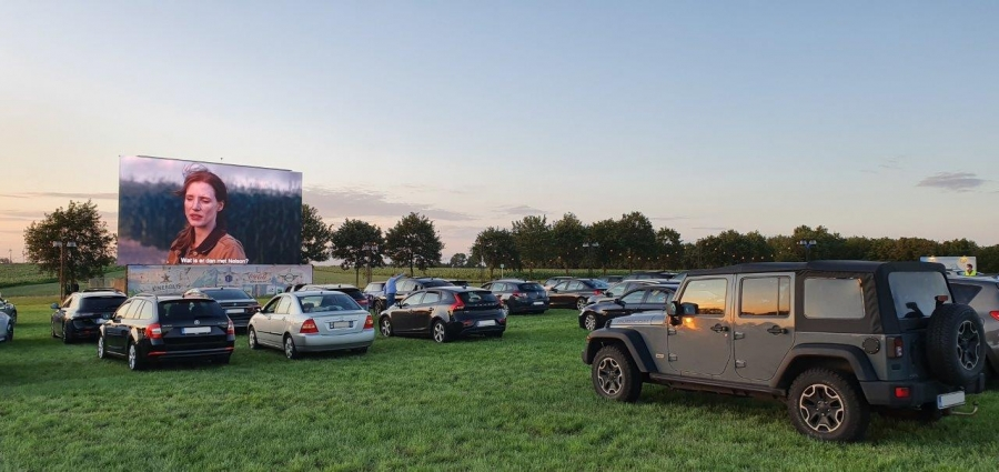 """Kinepolis On Tour"" met HD Ledshine door België"