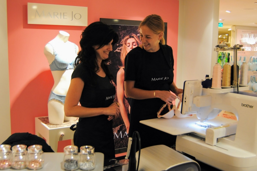 Internationale roadshow : Marie-Jo en Prima Donna