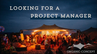 Organic-Concept zoekt een Project Manager Private Events