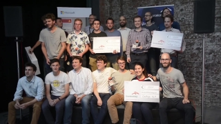 ArcelorMittal Hackathon dans The EGG Brussels