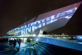 Panasonic sponsort World Masters of Projection Mapping op ISE 2018