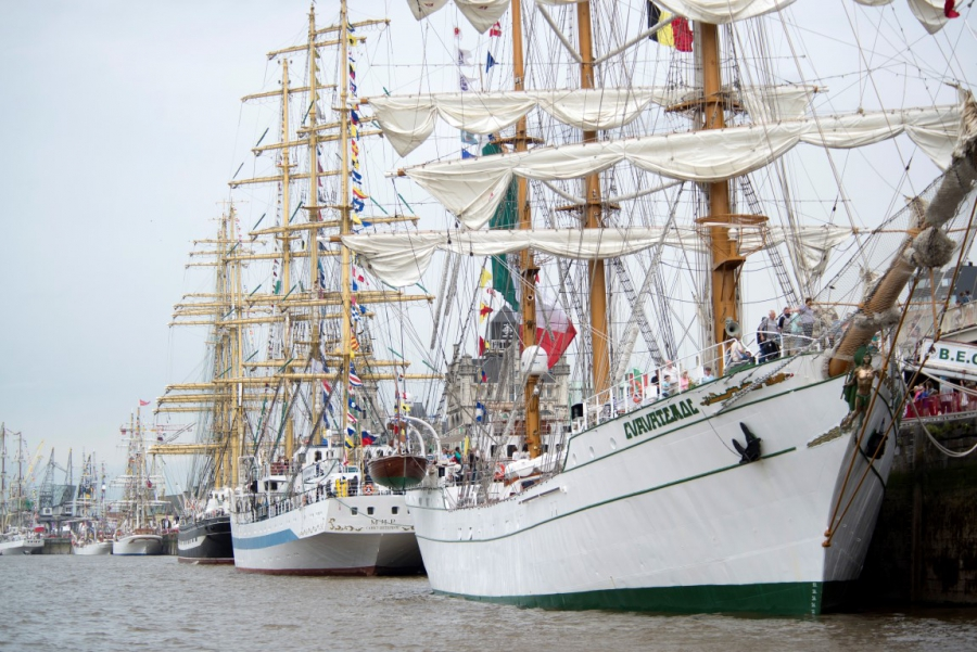 The Tall Ships Races bekroond tijdens BEA Awards 2017
