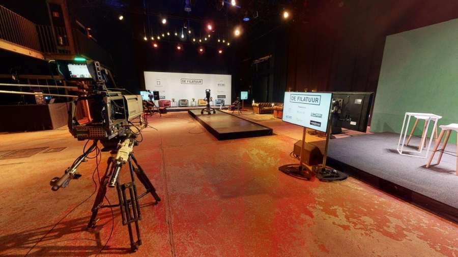 "Lancering van een high-tech virtuele eventstudio ""De Filatuur"""