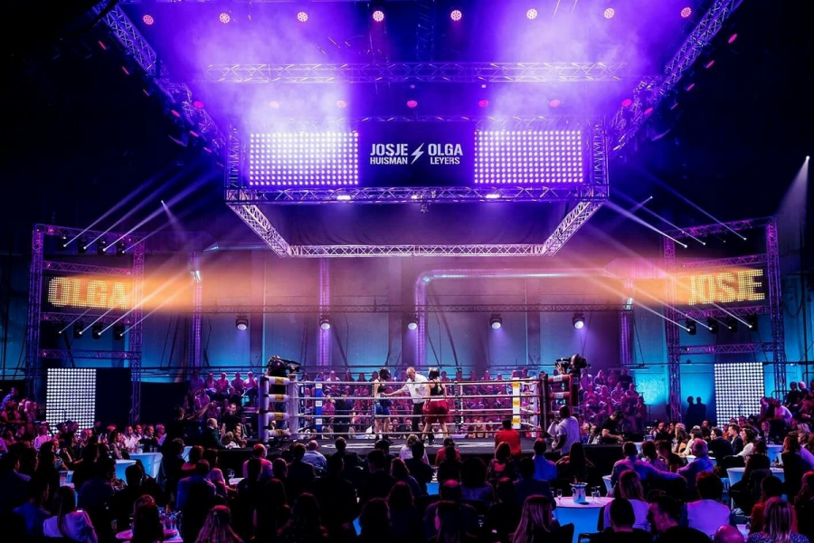 CHAUVET Professional slaat gensters op Belgium Box Gala