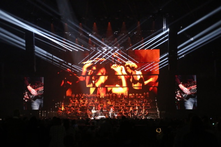 PURE10 steelt de show tijdens Night of The Proms 2018